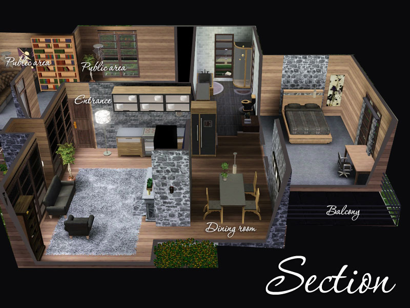 Sims3cri Lots Apart Bko Oasis 6 8 7 9 Require The Sims 3