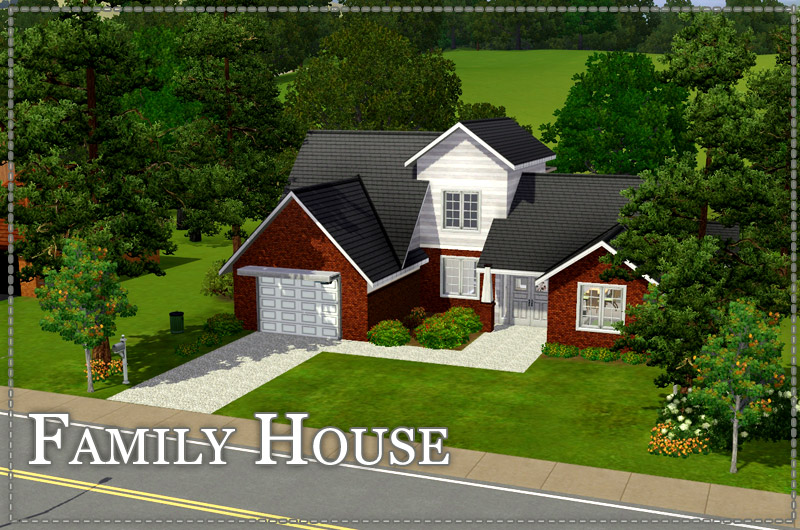 Sims 3 Cri @ - The Sims 3 game fansite   Residential Lots